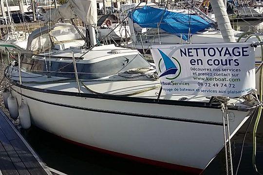 Nettoyage de bateau par Kerboat Services