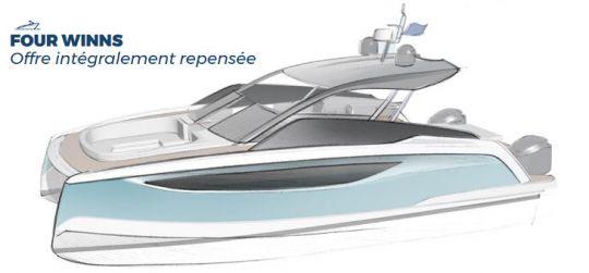 Esquisse d'un futur bateau Four Winns