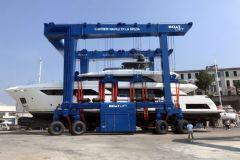 Boatlift fertigt maßgeschneiderte Stapellaufbrücken