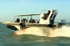 Folienkonzept-Boot entwickelt von der Bénéteau-Gruppe, Seair, DEMS und Noval.