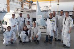 Besuch vor Ort organisiert vom Campus des Métiers et des Qualifications du nautisme im Pays de la Loire