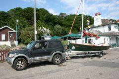 Das Manövrieren von Anhängern kann einige Bootsfahrer erschrecken