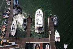 Docking mit DockSense-Technologie