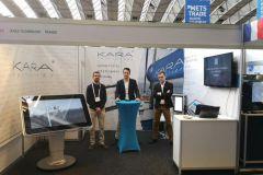 Das Kara Technology Team bei METS Trade