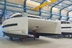 Bali-Katamarane in Produktion bei der tunesischen Tochtergesellschaft Haco der Catana-Gruppe