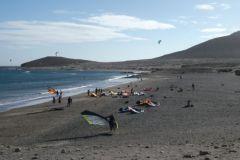 Windsurf- und Kitesurfing-Spot auf den Kanarischen Inseln