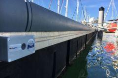 Nauticspot-Sensor für die Überwachung von Marinas