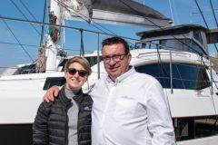 Anna Nowotarska, neue Exportverkaufsleiterin mit Gilles Wagner, CEO von Privilège Marine