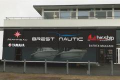 Ein neues BigShip-Geschäft in Brest