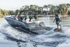 Das Boot der Braunschweiger Gruppe Sea Ray