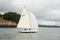 Segelboot BE 6.4 von Be Boat auf See