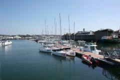 Yachthafen von Concarneau