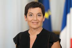 Annick Girardin, die neue Ministerin für das Meer