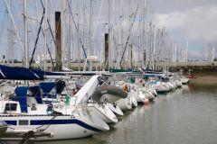 Hafen des Minimes in La Rochelle