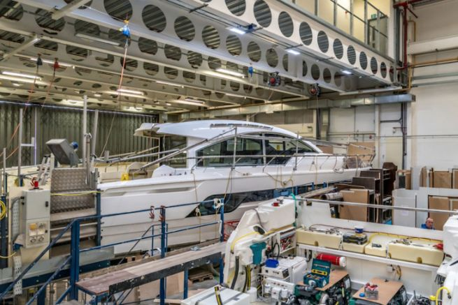 Fairline Yachts Fabrik in Oundle